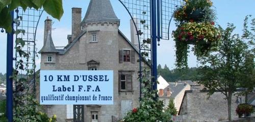 10 km Ussel Ventadour